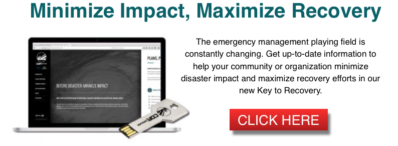 Emergency Management Key to Recovery CTA