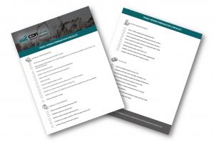 CDR-EM Spring Checklist