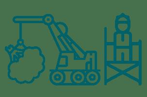 Debris monitoring service icon