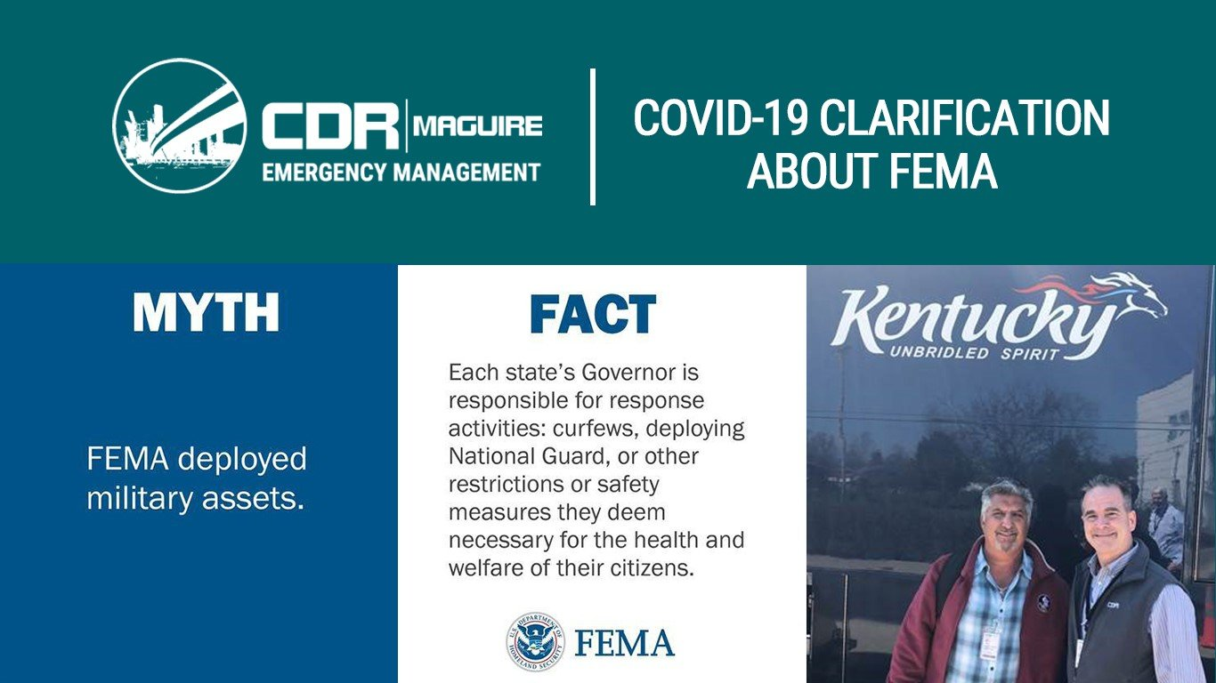 Covid-19 Clarification About Fema