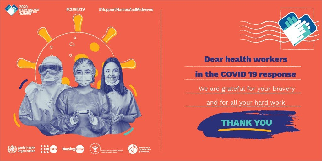 CDR-EM Celebrating world health day intern