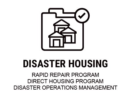 Disaster Housing Icon