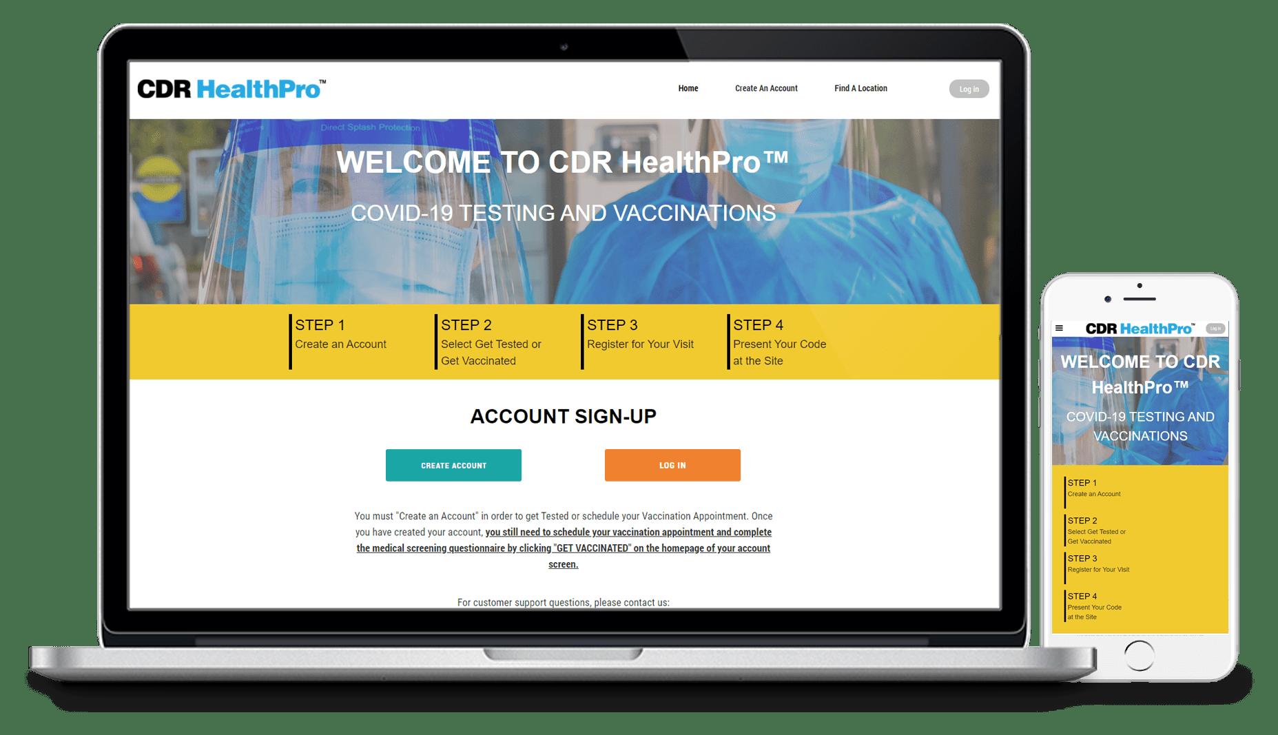 Patient Portal CDR Health